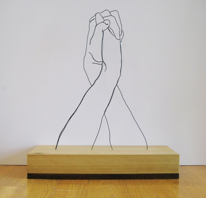 La Sculpture En Fil De Fer De Gavin Worth Debobrico