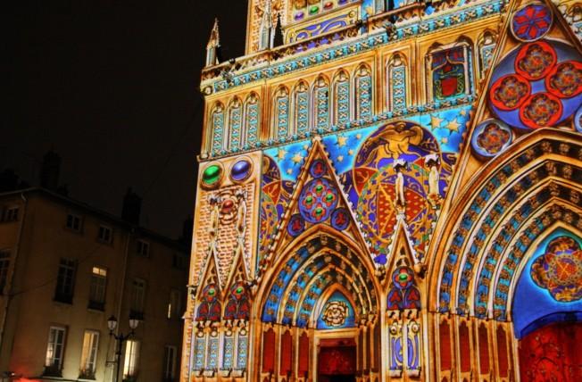 Cathedrale St jean illuminations
