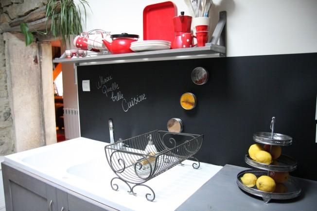 Un tableau noir dans ma cuisine! - DeboBrico
