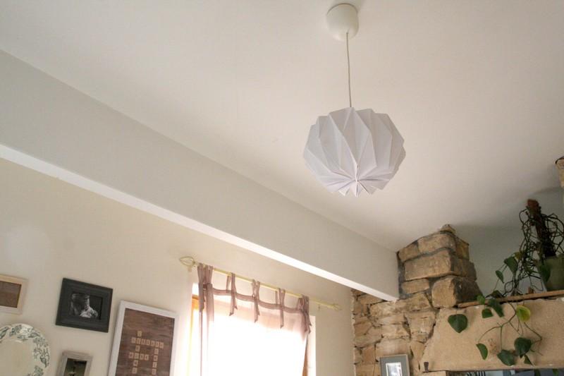 ma suspension origami debobrico. Black Bedroom Furniture Sets. Home Design Ideas