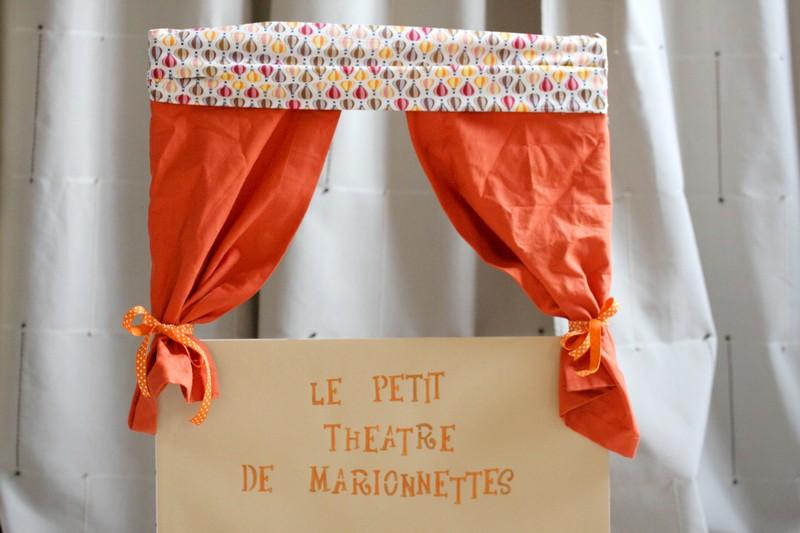 Un th tre de marionnettes - Fabriquer un theatre de marionnettes en bois ...