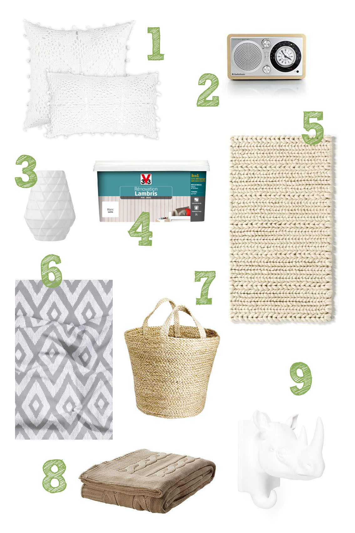 S lection shopping chambre parentale for Chambre zara home