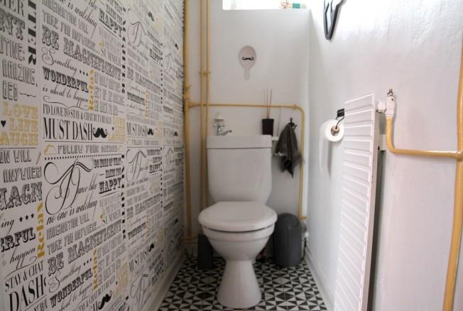 Les wc Avant/ Après