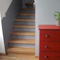 Les escaliers avant/ après