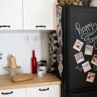 Réfrigérateur ardoise & Souvenirs en vrac