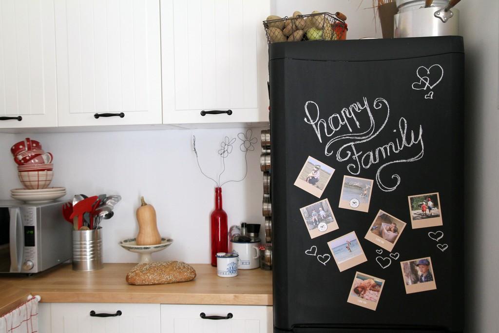 Top Réfrigérateur ardoise & Souvenirs en vrac - XL32